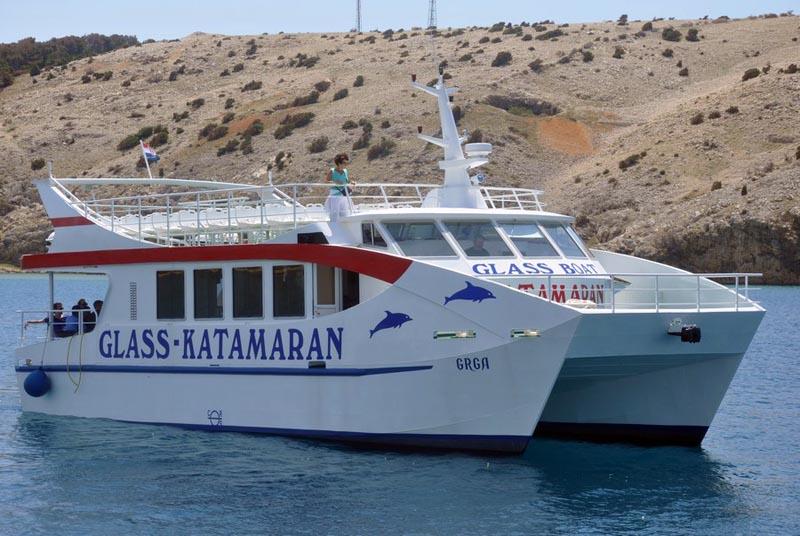 Photo Album Cruises  Glass Catamaran Grga